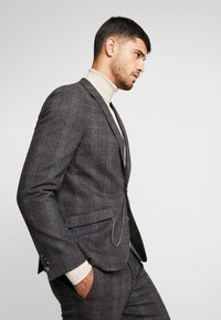 Shelby & Sons - SHELDON SUIT - Anzug - charcoal - 7