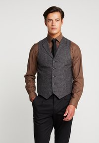 Shelby & Sons - MERE WAISTCOAT - Weste - grey - 0