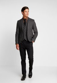 Shelby & Sons - MERE WAISTCOAT - Weste - grey - 1