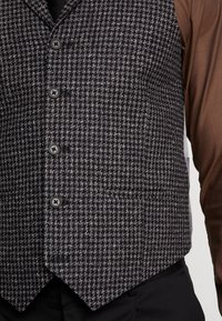 Shelby & Sons - MERE WAISTCOAT - Weste - grey - 5