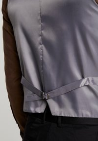 Shelby & Sons - MERE WAISTCOAT - Weste - grey - 3