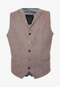 Shelby & Sons - CRANBROOK WAISTCOAT  - Vesta - light brown - 3
