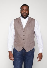 Shelby & Sons - CRANBROOK WAISTCOAT  - Vesta - light brown - 0