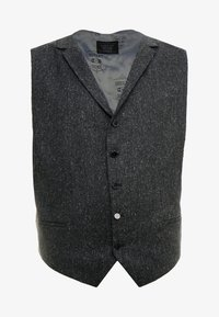 Shelby & Sons - CRANBROOK WAISTCOAT PLUS - Vesta - charcoal - 4