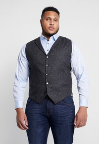 Shelby & Sons - CRANBROOK WAISTCOAT PLUS - Vesta - charcoal - 0