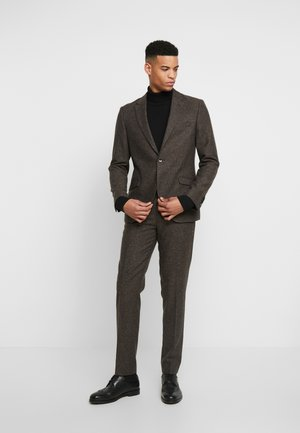 CRANBROOK SUIT - Oblek - dark brown