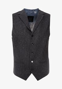 Shelby & Sons - CRANBROOK WAISTCOAT - Bodywarmer - charcoal - 4