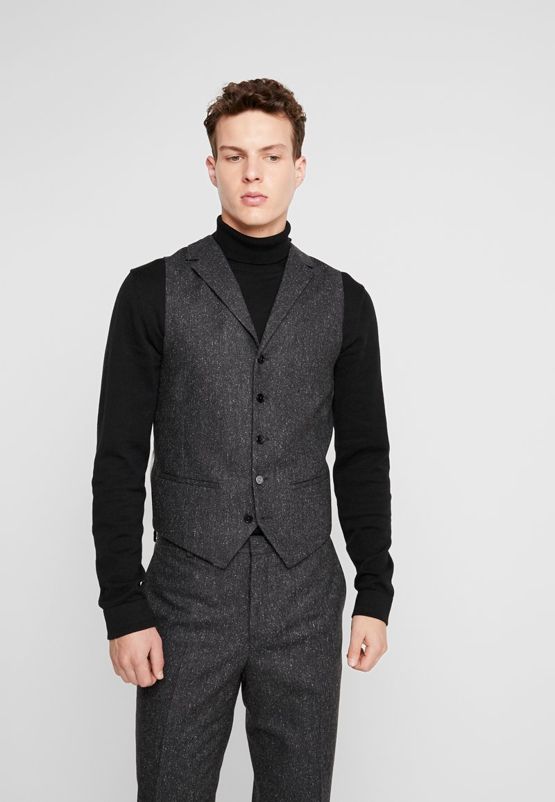 Shelby & Sons - CRANBROOK WAISTCOAT - Bodywarmer - charcoal