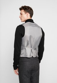 Shelby & Sons - CRANBROOK WAISTCOAT - Bodywarmer - charcoal - 2