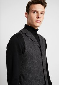 Shelby & Sons - CRANBROOK WAISTCOAT - Bodywarmer - charcoal - 3