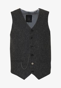 Shelby & Sons - SIDCUP WAISTCOAT - Smanicato - charcoal - 4