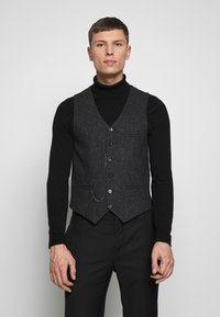 Shelby & Sons - SIDCUP WAISTCOAT - Smanicato - charcoal - 0