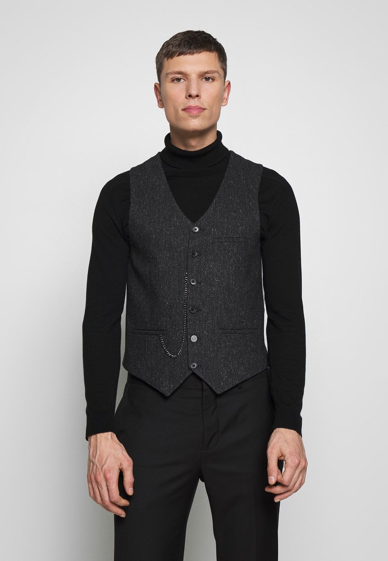 Shelby & Sons - SIDCUP WAISTCOAT - Smanicato - charcoal