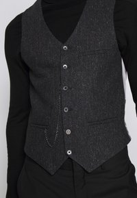 Shelby & Sons - SIDCUP WAISTCOAT - Smanicato - charcoal - 5