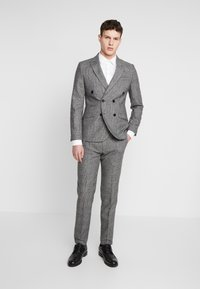 Shelby & Sons - KIRKHAM SUIT DOUBLE BREASTED  - Suit - grey - 0