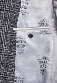 Shelby & Sons - LOWESTOFT SUIT - Oblek - charcoal - 8