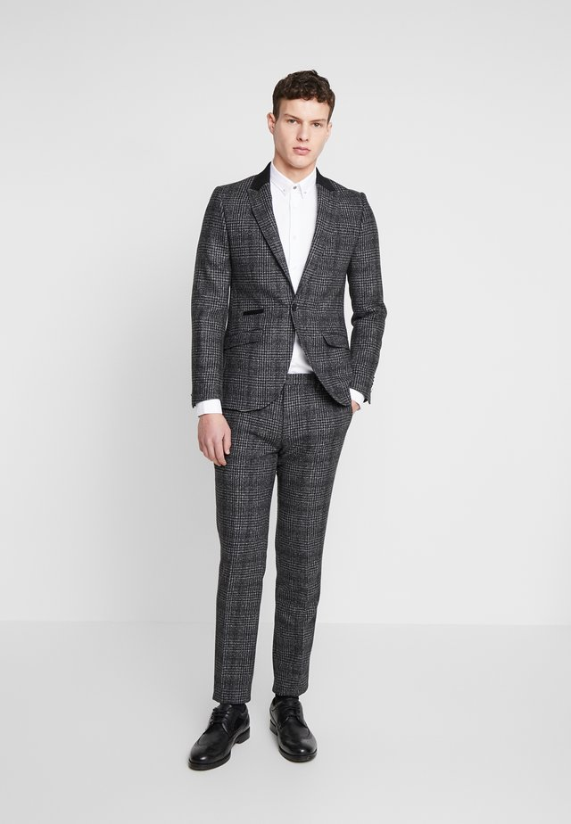 LOWESTOFT SUIT - Dress - charcoal