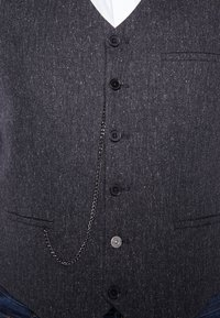 Shelby & Sons - SIDCUP WAISTCOAT PLUS - Vesta - charcoal - 4