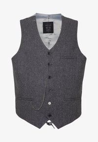 Shelby & Sons - SIDCUP WAISTCOAT PLUS - Vesta - charcoal - 3