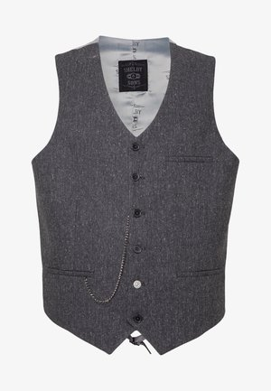 SIDCUP WAISTCOAT PLUS - Chaleco - charcoal