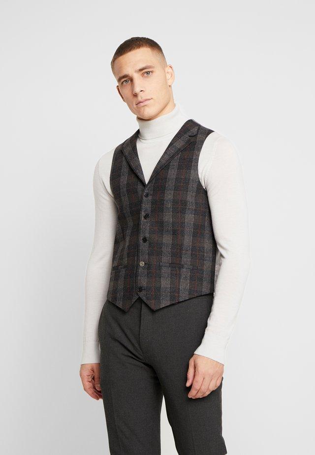 TOTTON WAISTCOAT - Vest - grey