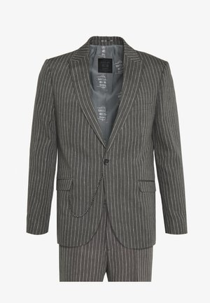 BISHAM SUIT - Completo - charcoal