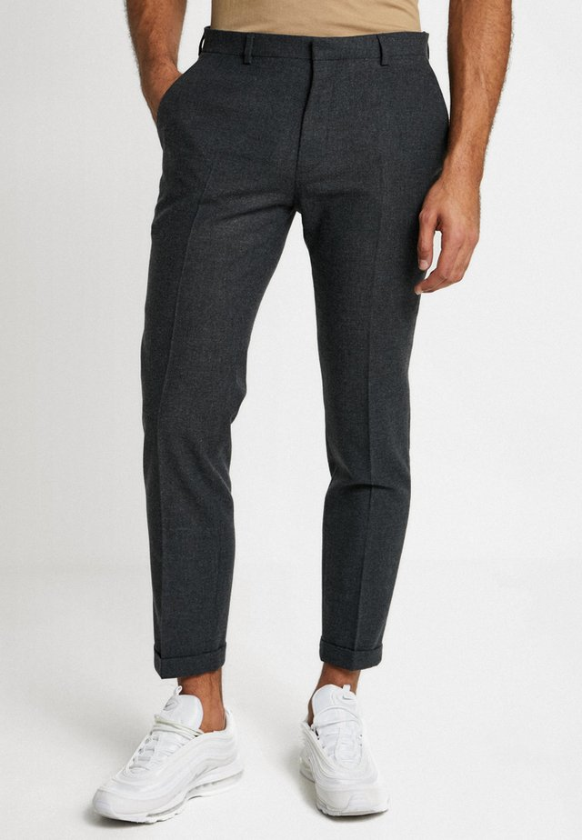 THIRSK  - Suit trousers - charcoal