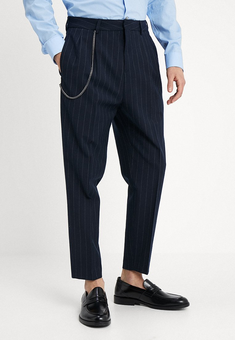 Shelby & Sons - RIPON - Trousers - navy