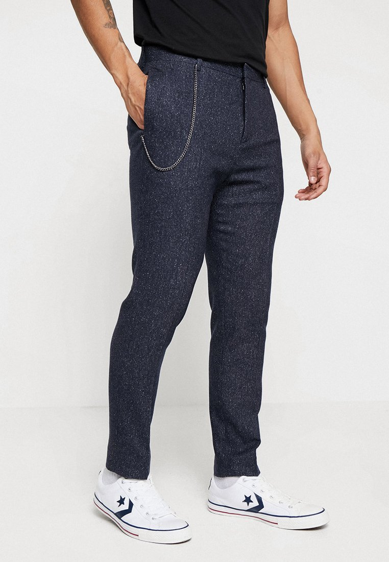Shelby & Sons - ALSTON - Spodnie materiałowe - charc blue