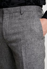 Shelby & Sons - TAPERED TROUSER - Kalhoty - grey - 4