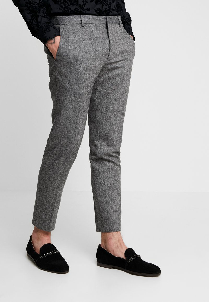 Shelby & Sons - TAPERED TROUSER - Kalhoty - grey