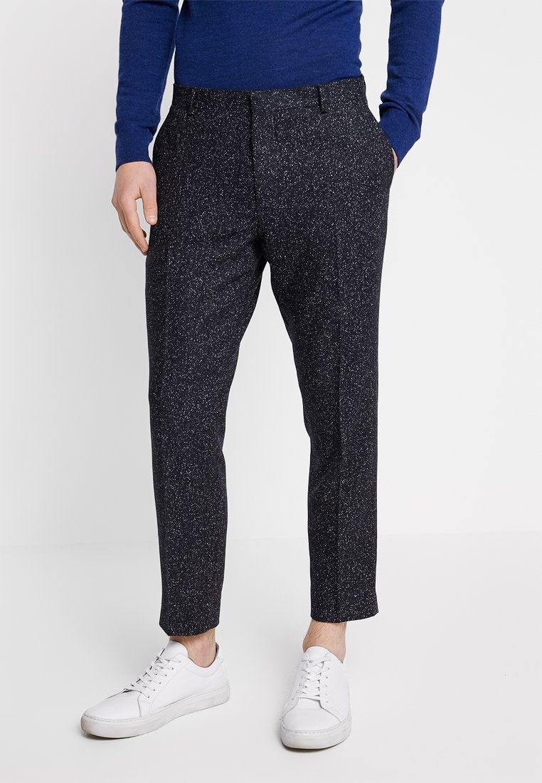 Shelby & Sons - GIB TAPERED - Trousers - navy