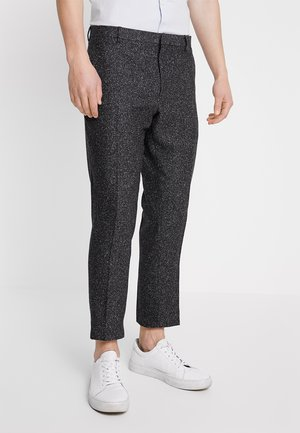 GIB TAPERED - Trousers - charcoal