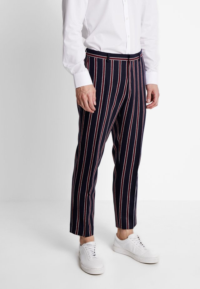 GOSTA CROPPED  - Trousers - navy
