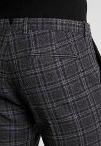 Shelby & Sons - SALTLEY TURN UP  - Pantalones - grey - 3