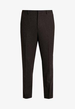 THIRSK TROUSER - Pantalones - dark brown