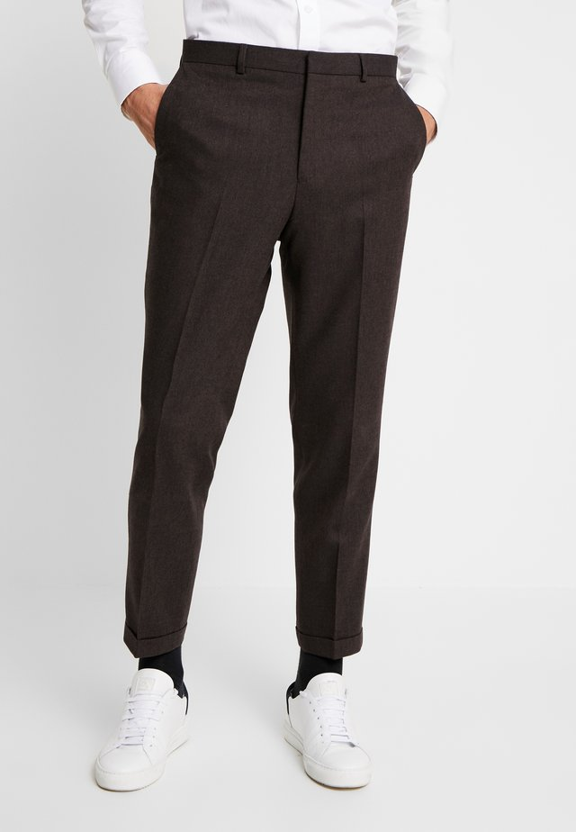 THIRSK TROUSER - Trousers - dark brown