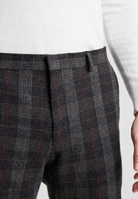 Shelby & Sons - TOTTON TROUSER - Broek - grey - 4