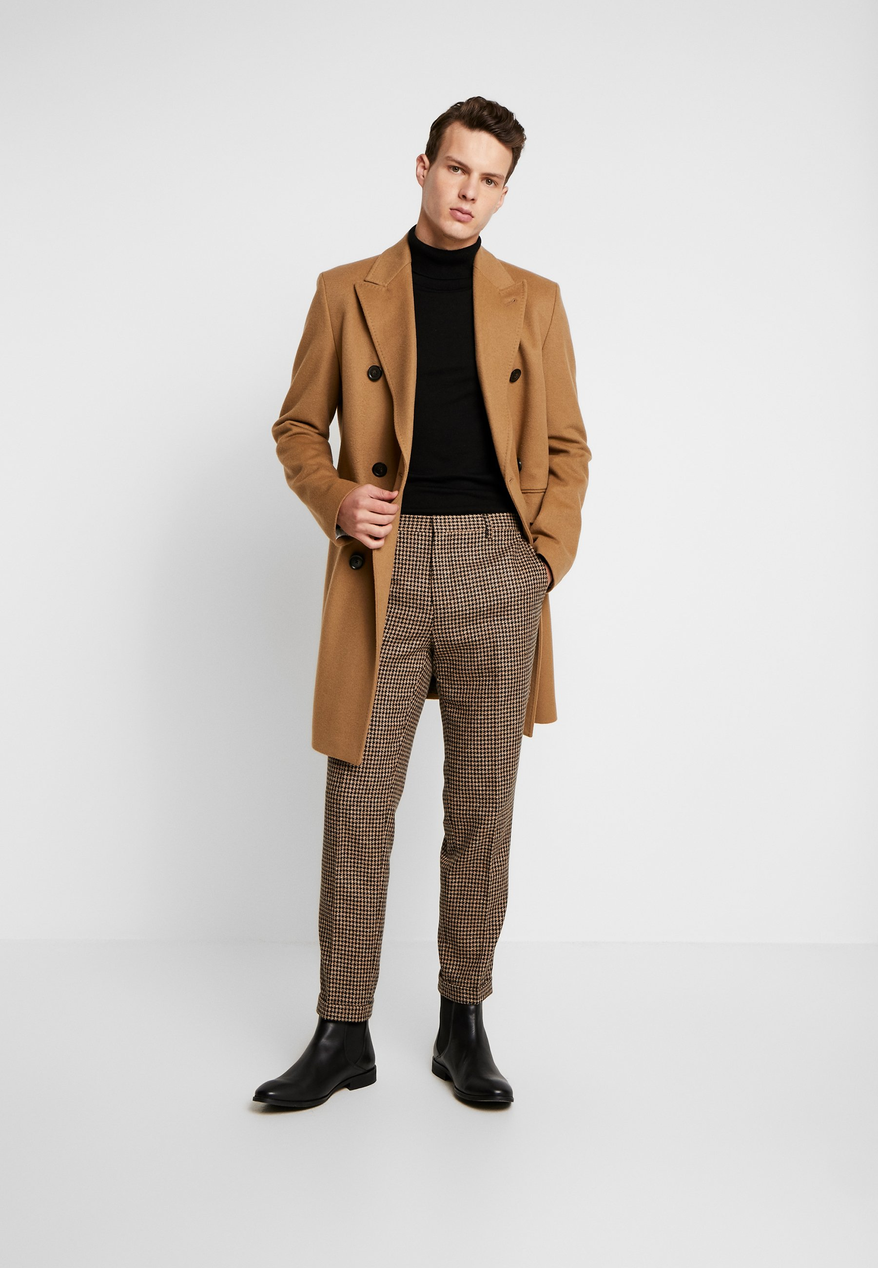 Shelby & Sons Knighton Trouser - Trousers Brown UK
