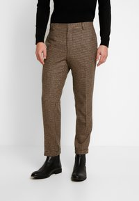 Shelby & Sons - KNIGHTON TROUSER - Pantaloni - brown - 0