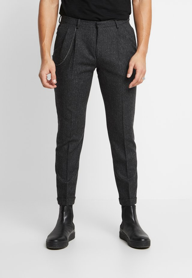 SIDCUP TROUSER - Kalhoty - charcoal