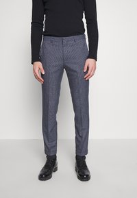 Shelby & Sons - AMBROSE TROUSER - Trousers - navy - 0