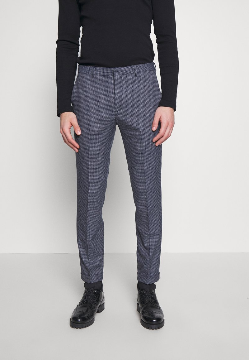Shelby & Sons - AMBROSE TROUSER - Trousers - navy