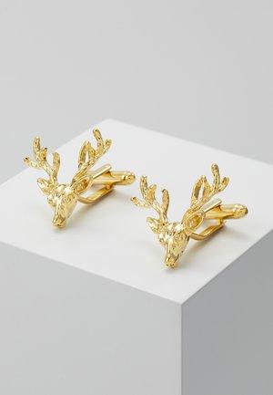 FRANCIS - Manžetové knoflíčky - shiny gold-coloured