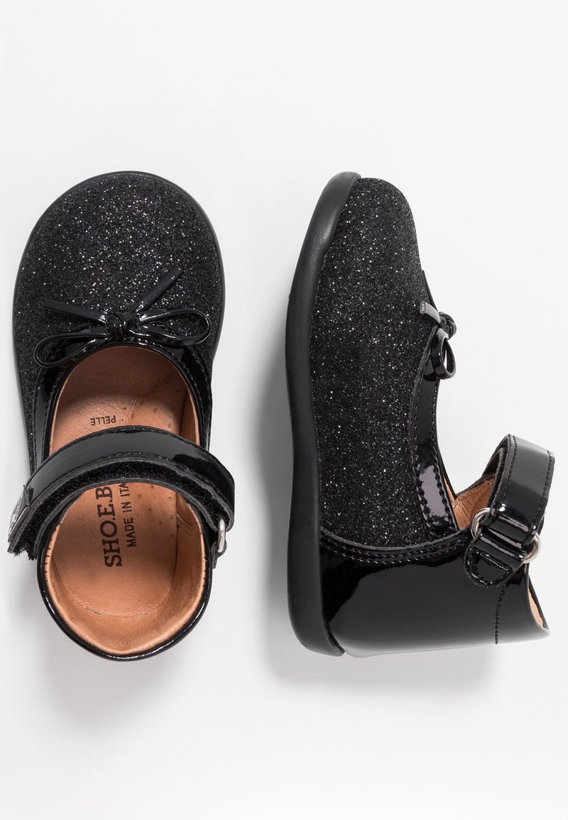 shoeb76 - Baby shoes - glitter/nero