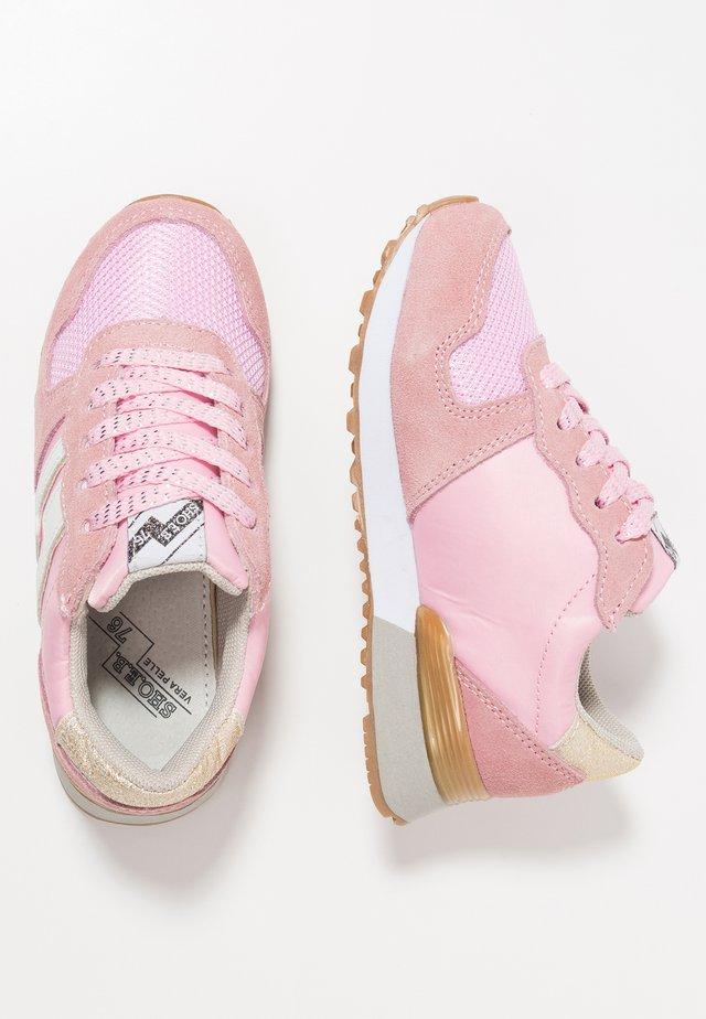 Sneaker low - pink/white