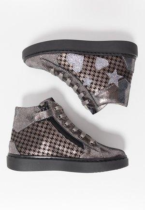 Sneakersy wysokie - dark grey
