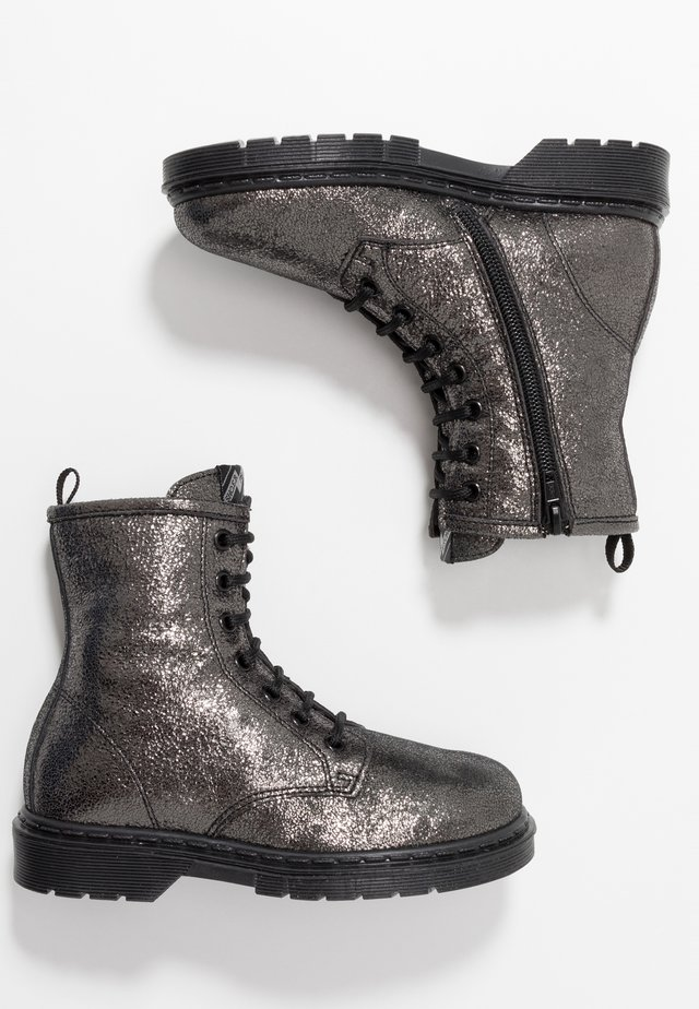 Bottines à lacets - dark grey