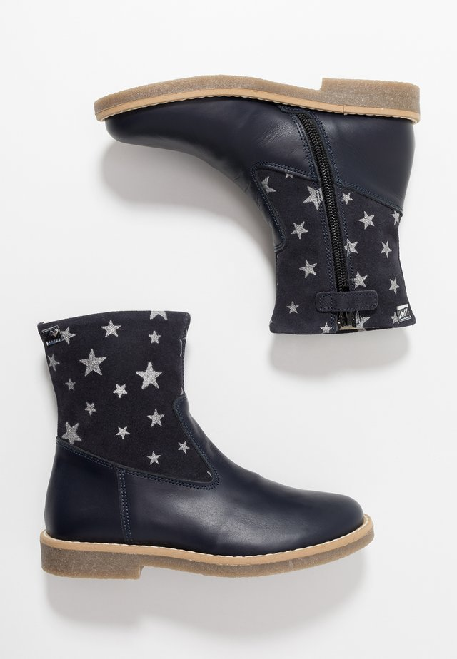 Classic ankle boots - blu