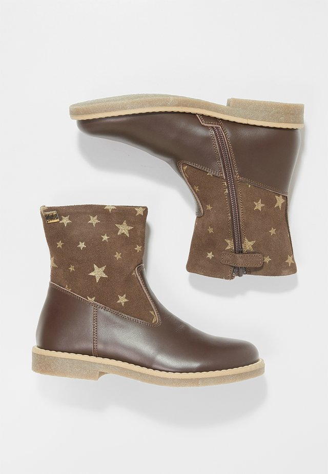 Classic ankle boots - moro